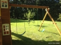 Cedar Summit Mount Forest Lodge Swing Set