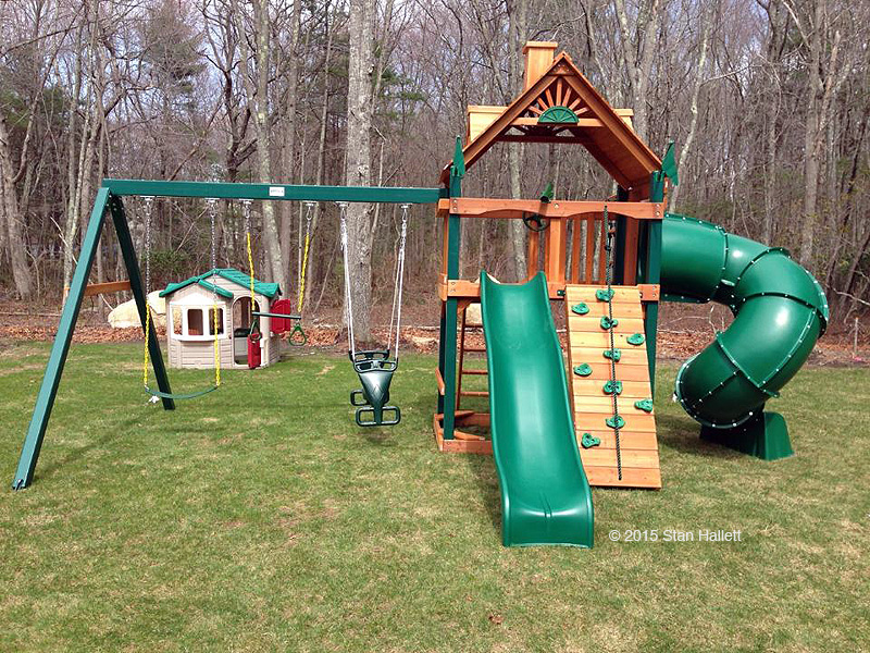 Mountaineer Playset Installation Swing Set Assembly Ma Ct Ri Nh Me