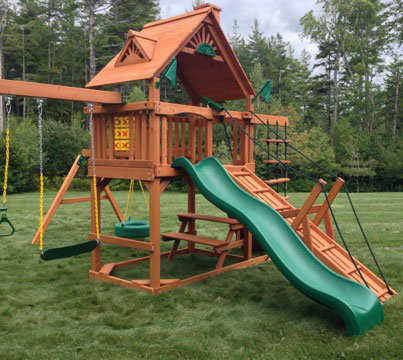 Playset assembler and swing set installer in jamaica vt for Gorilla playsets