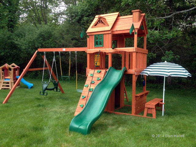 Cafe Climber Playset Installation Swing Set Assembly Ma Ct Ri Nh Me