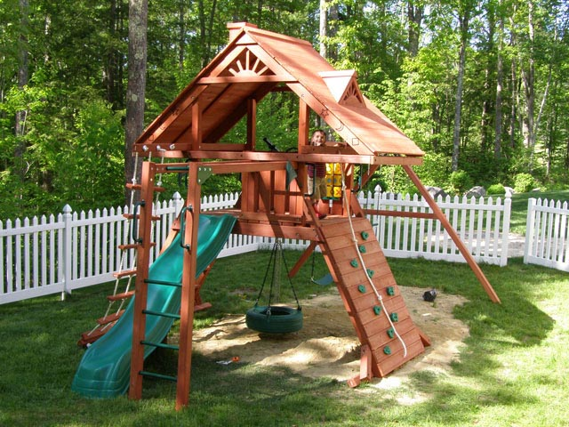 Playset assembler and swing set installer in willimantic for Gorilla playsets