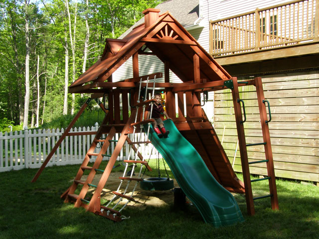 Gorilla Playsets Playset Installation Swing Set Assembly Ma Ct