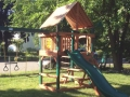 Gorilla Playsets Chateau II Swing Set