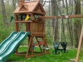 Gorilla Playsets Double Down Cedar Swing Set
