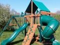 Gorilla Playsets Mountaineer Deluxe Swing Set