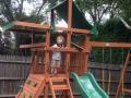 Gorilla Playsets Outing III Swing Set