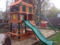 Gorilla Riverview Cedar Swing Set