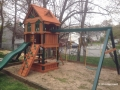 Gorilla Riverview Cedar Swing Set