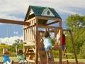 Swing-N-Slide Cumberland Wood Complete Play Set