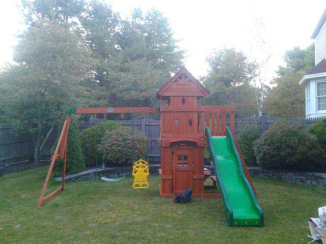 New England Playset Assembly, Yarmouth, ME – Playset ...