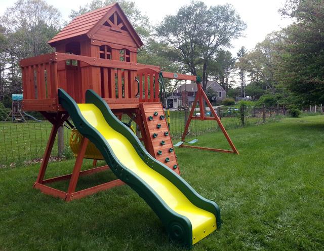 Backyard Discovery Playset Installation Swing Set Assembly Ma Ct Ri Nh Me