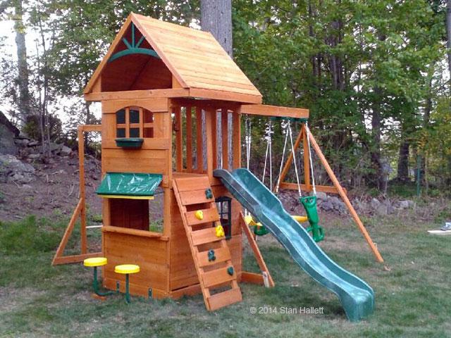 Big Backyard Ridgeview Clubhouse Deluxe