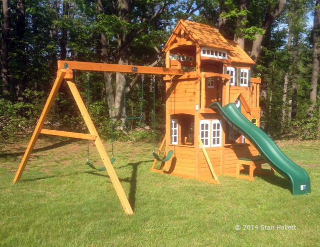 tags cedar summit mount forest lodge playset assembly swing set