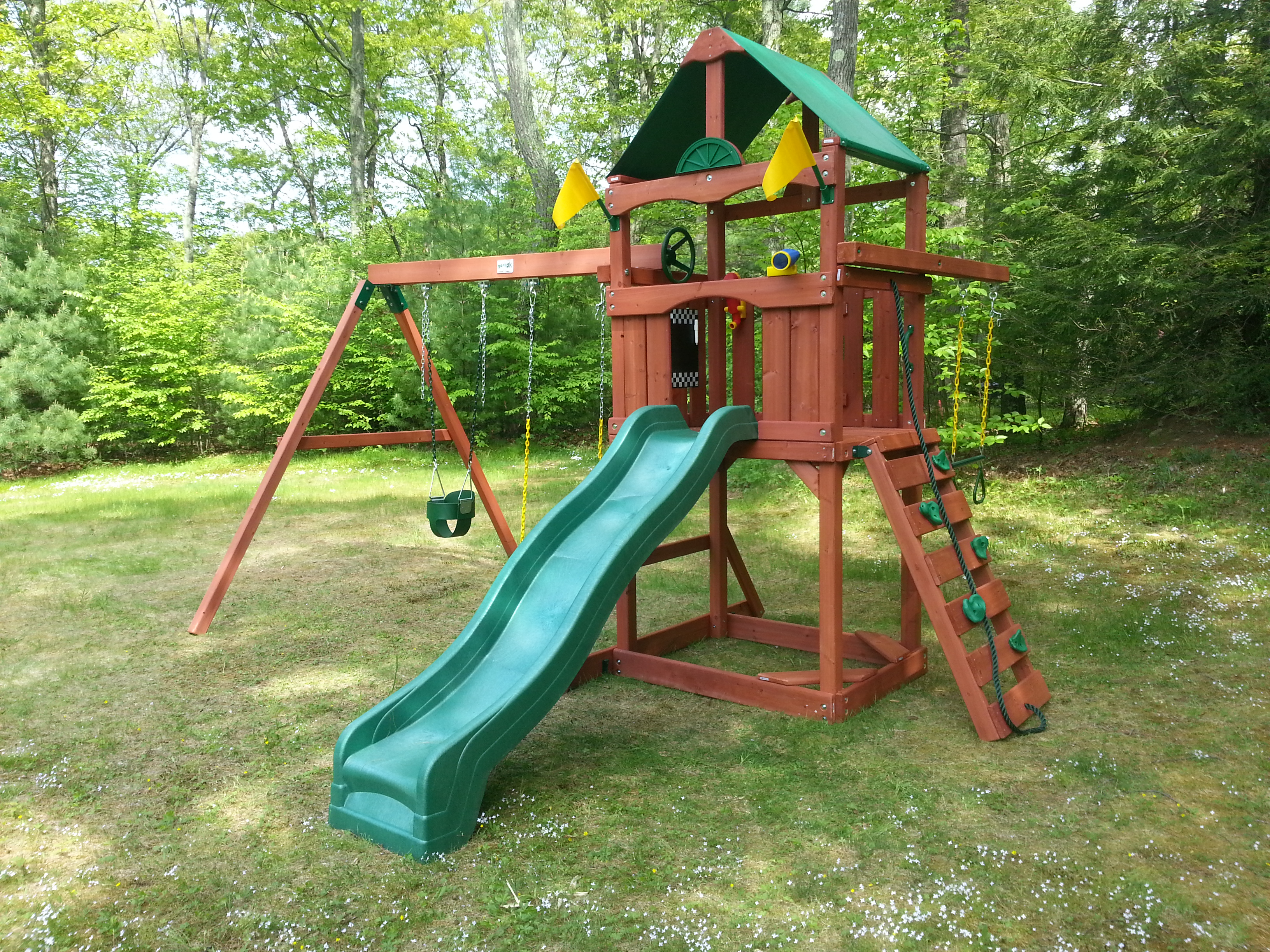 May 2014 Swing Set Installation Ma Ct Ri Nh Me