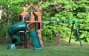 Gorilla Playsets Woodbridge Swing Set