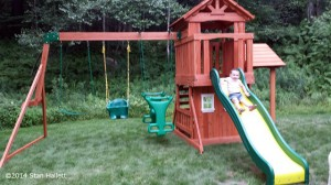 backyard discovery tanglewood cedar wooden swing set in ludlow vt on