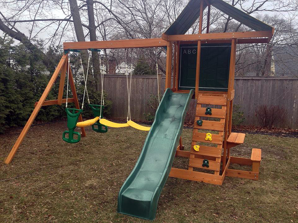 We assembled this Big Backyard Springfield II Playset in Fairfield, CT