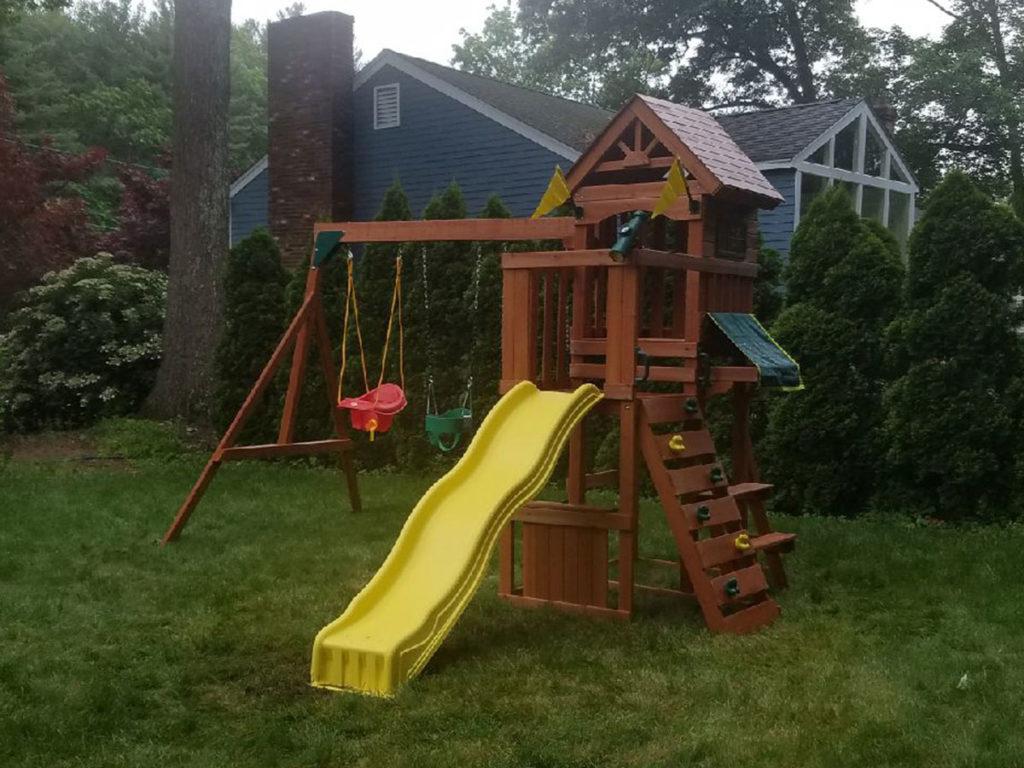 Swing & Slide Jamboree Fort