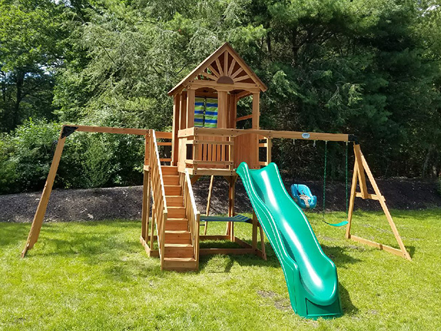 Backyard Discovery Oceanview Playset