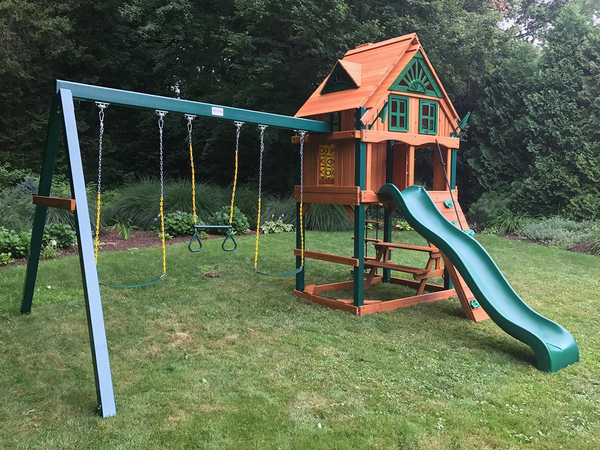 Gorilla Mountain Ridge Swing Set