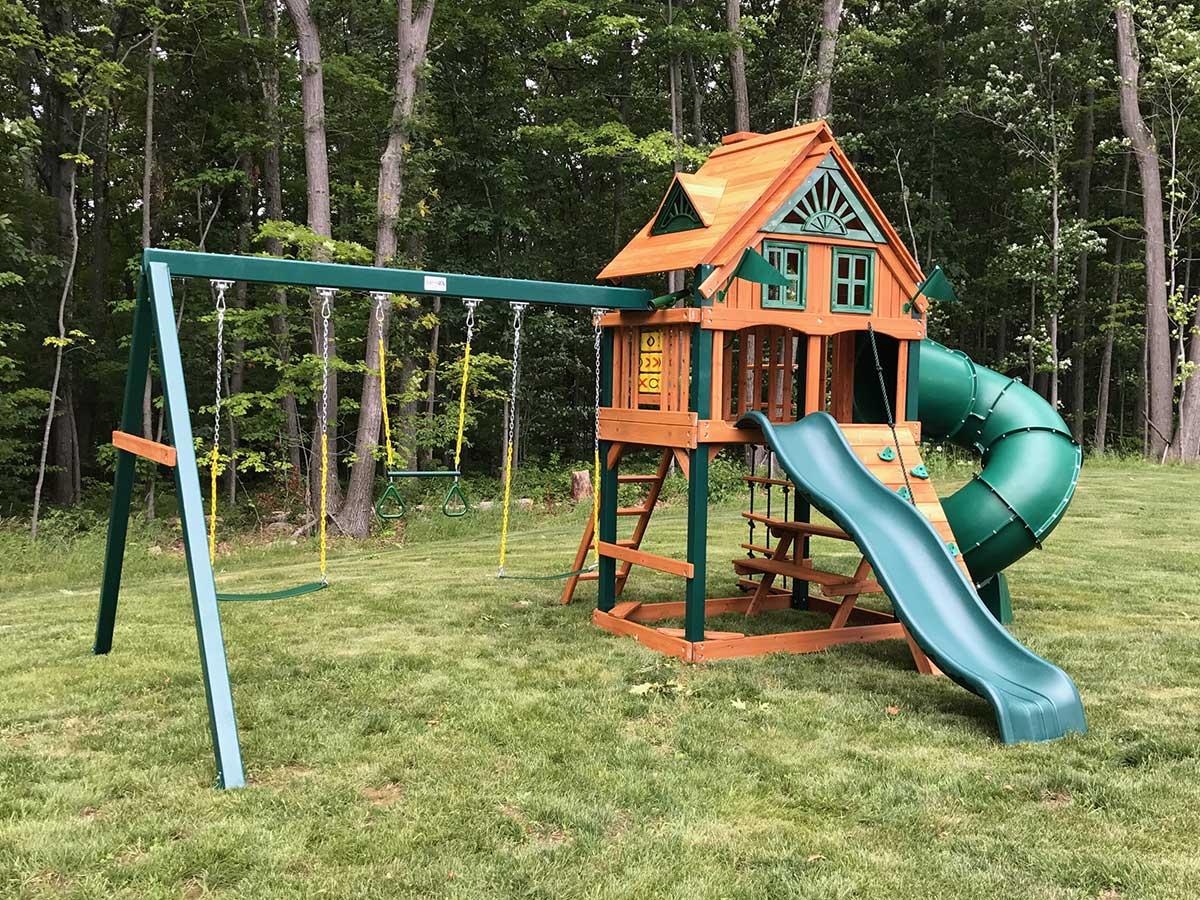 Gorilla Mountaineer Treehouse Playset