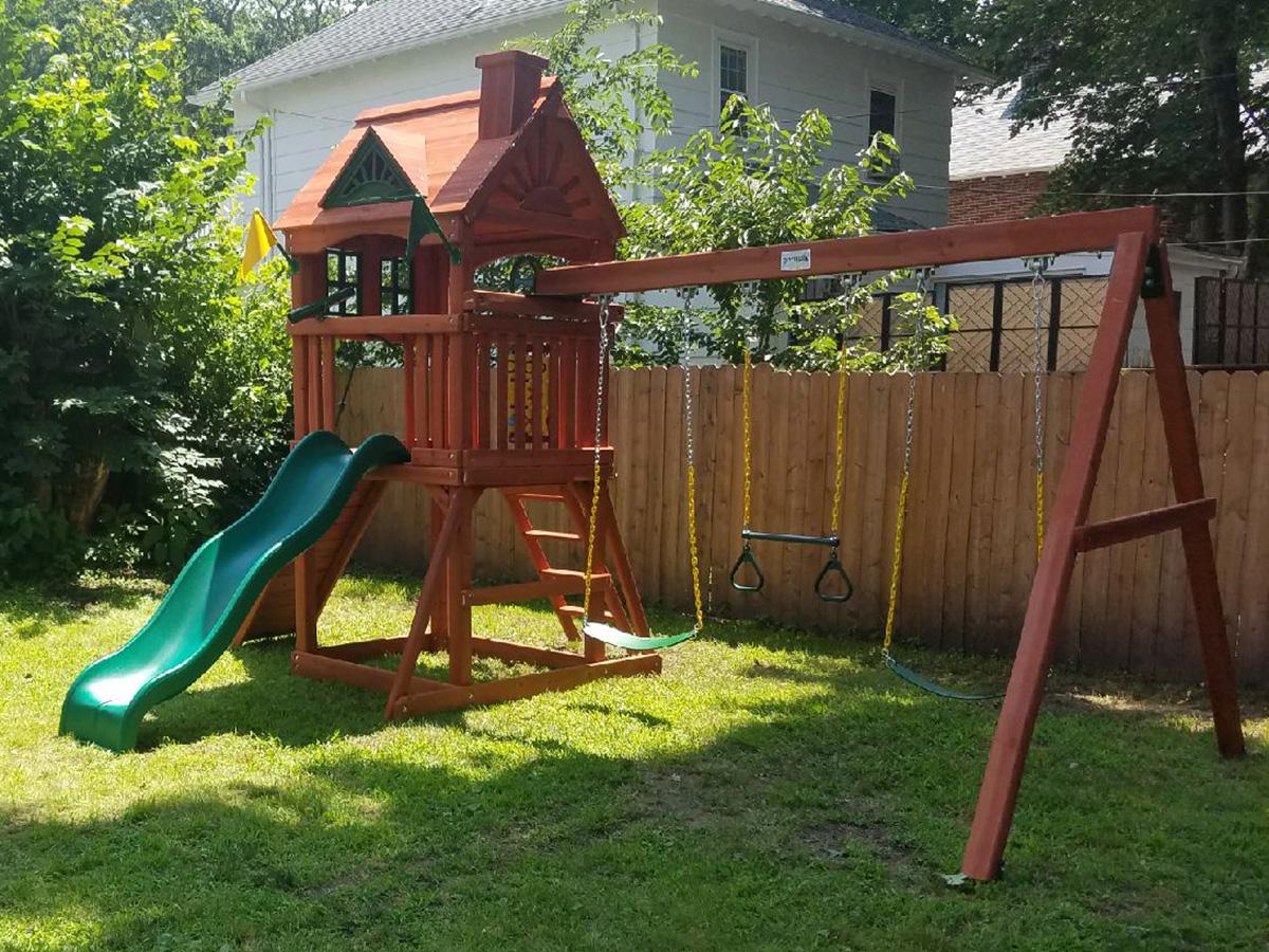 Gorilla Nantucket Swing Set Installation