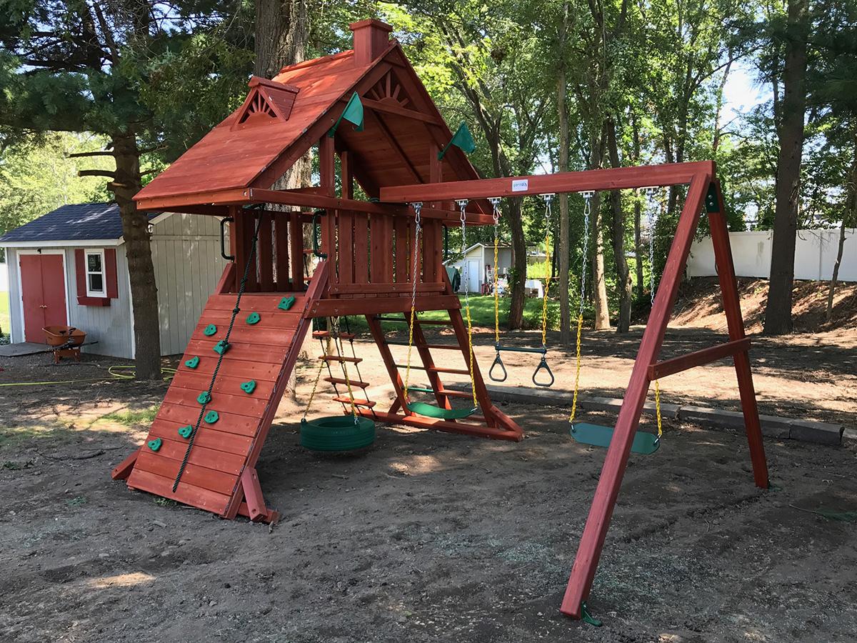 Gorilla Sun Palace Swing Set