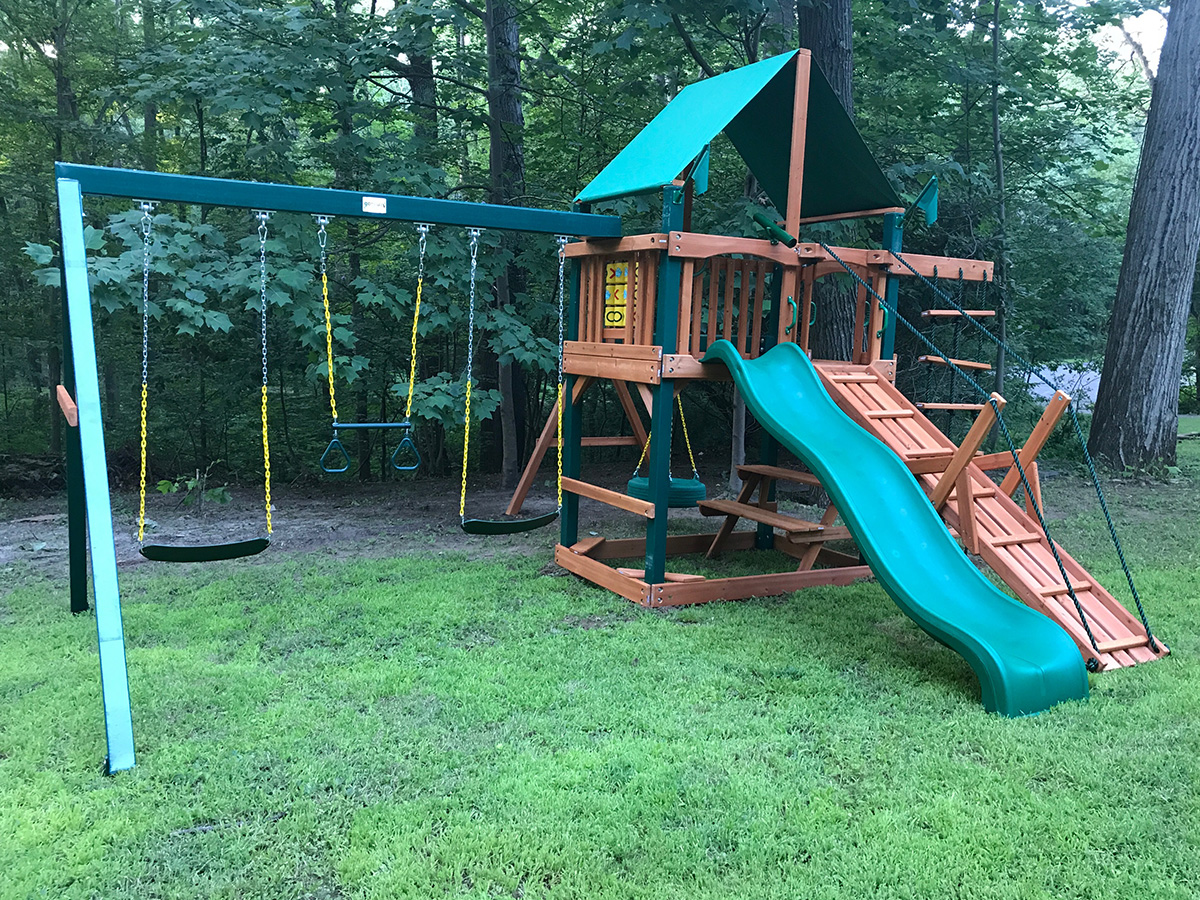 Gorilla Frontier Playset Assembly in Bethany, CT