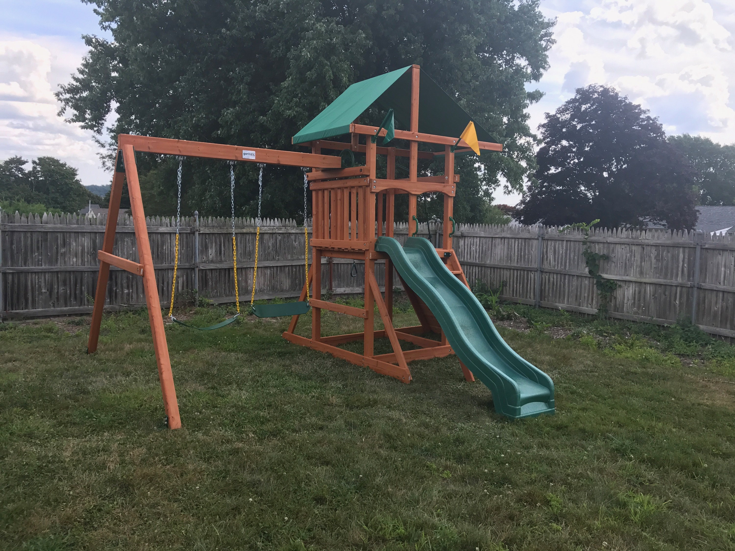 Gorilla Outing III Playset Assembly in Somerset, MA
