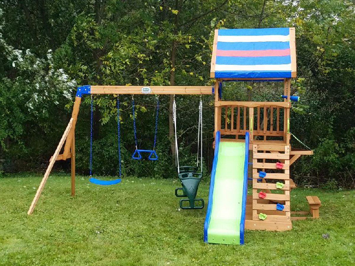 Backyard Discovery Beach Front Playset Assembly, Danvers, MA