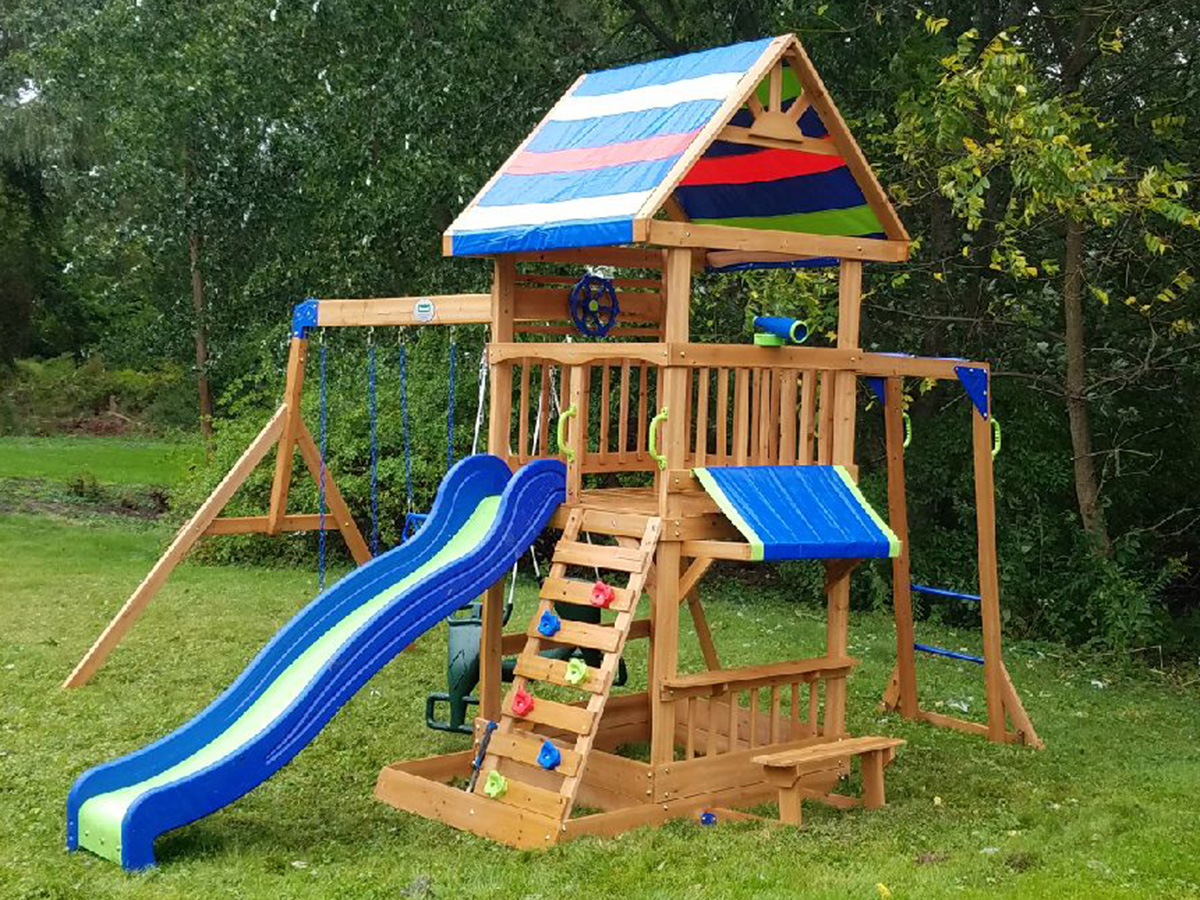 Backyard Discovery Beach Front Playset Installation, Danvers, MA