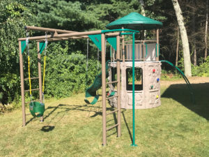 Lifetime Adventure Tower Deluxe Playset Assembly in Greenville, RI