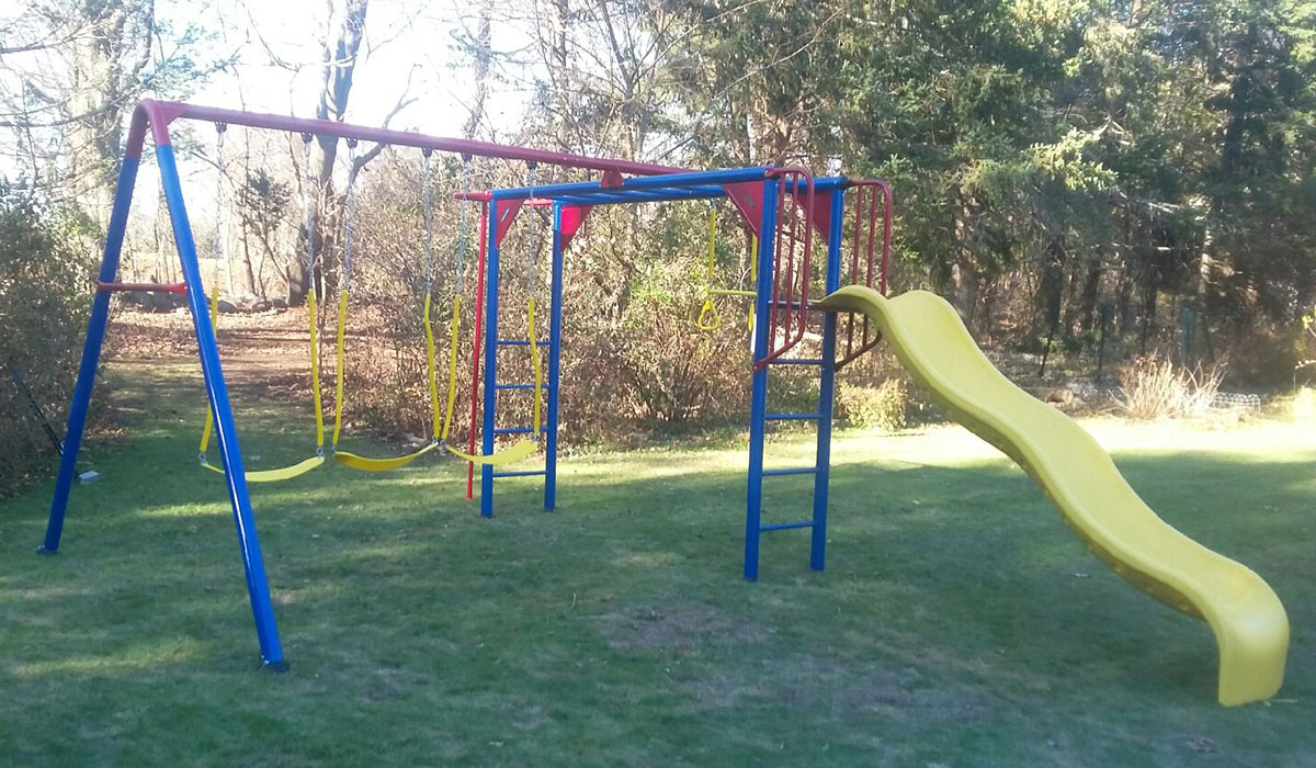Liftetime Monkey Bar Adventure Playset Assembly in Canton, MA
