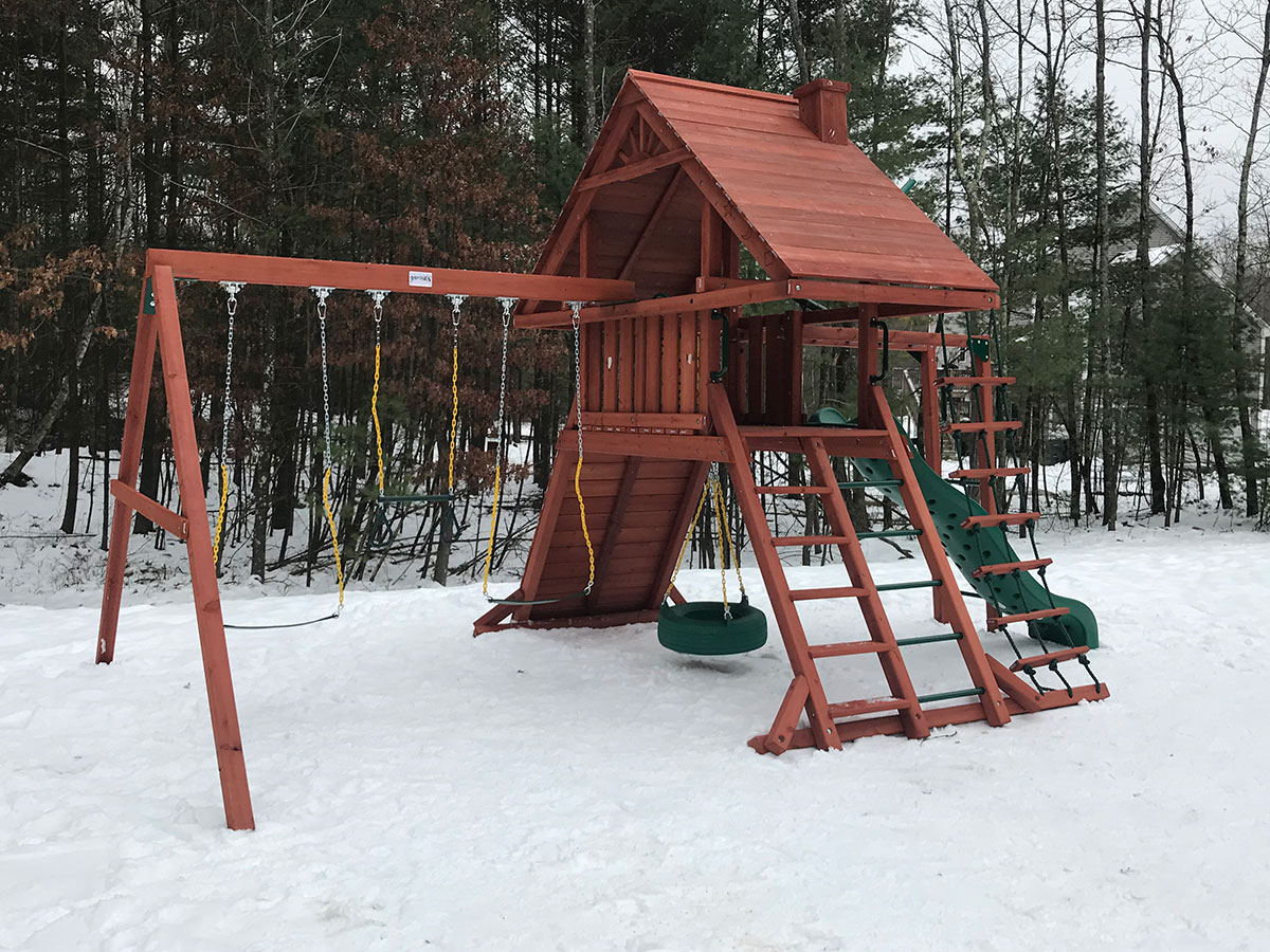 Playset and Swing Set Assembly and Installation in Douglas, MA