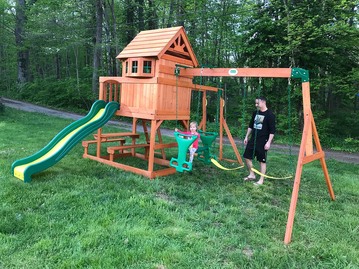 New England Playset Assembly, North Branford, CT - Playset ...